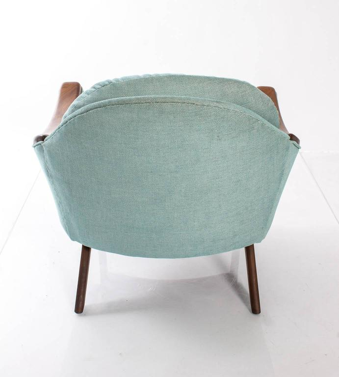 "Adrian Pearsall for Craft Association ""His and Hers"" Lounge Chairs For Sale 4"