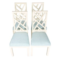 Chinese Chippendale Side Chairs