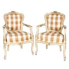 Louis XVI Open Armchairs