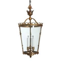 1920s Bronze Lantern