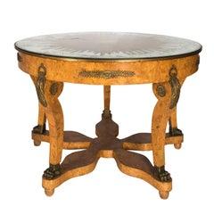 Directoire Style Center Table Circa 1960's