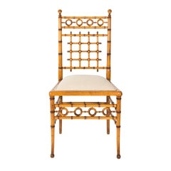 Faux Bamboo Chair by Horner, circa 1880