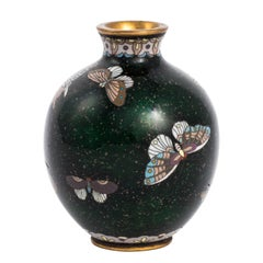 Japanese Meji Period Cloisonne Vase