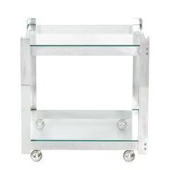 Aluminum Bar Cart