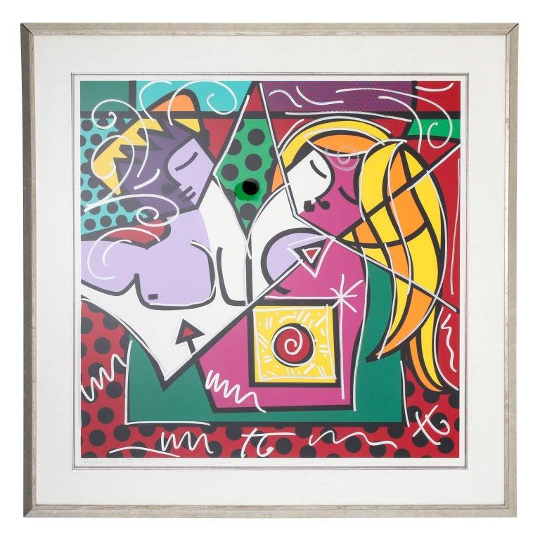 Pop Art by Romero Britto, circa 1989