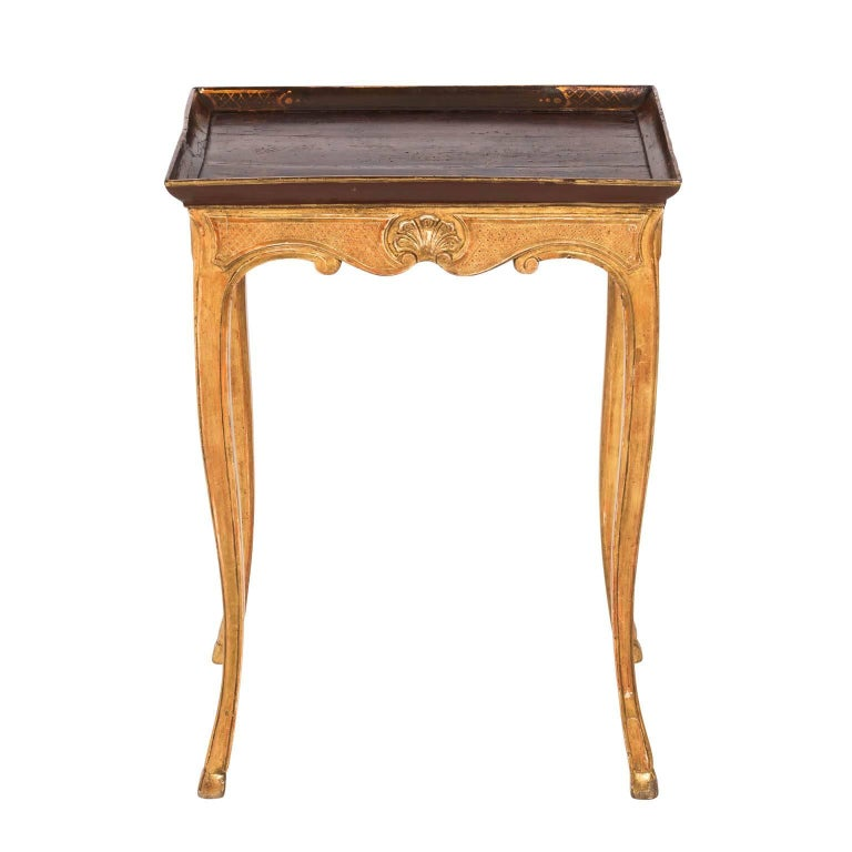 French Rococo Style 18th Century Side Table