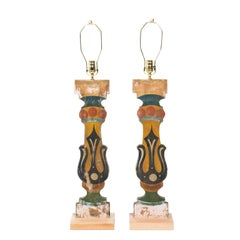 Pair of Decorative Carnival Lamps