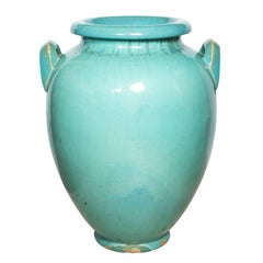 Very Large Terracotta Vase by Galloway, circa 1920s