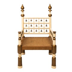 Anlgo-Indian Palace Armchair with Bells