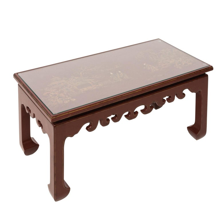 Chinese Lacquered Coffee Table