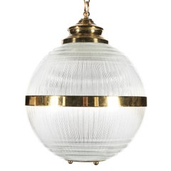 Glass Globe Chandelier