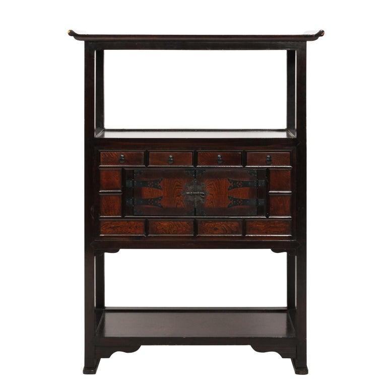 Late 20th Century Korean Two-Door Cabinet