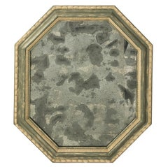 Octagonal Painted Mirror, circa 1990s