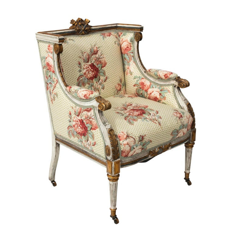 Early 20th Century French Neoclassical Armchairs