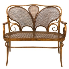 Bentwood Settee in the Manner of Michael Thonet