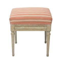 Painted Gustavian Stool, circa 1890s