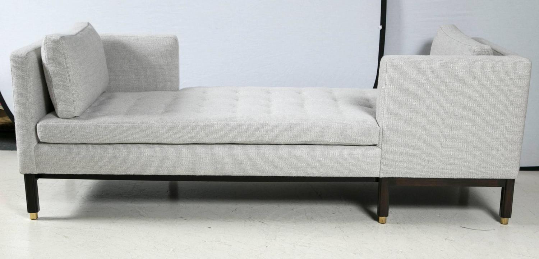 Edward wormley t te t te sofa for dunbar for sale at 1stdibs - Tete a tete sofa ...