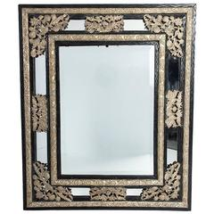 19th Century Dutch Repoussé Mirror