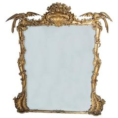 Gilt Chinioserie Mirror