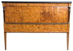 19th Century Fruitwood Headboard