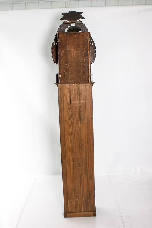 19th Century Grandfather Clock For Sale 3