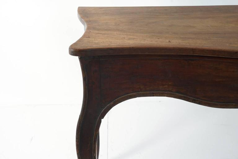 Continental Mahogany Table For Sale 3