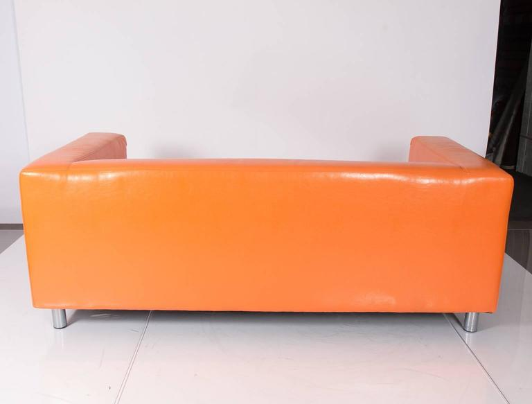 Vintage Orange Sofa For Sale At 1stdibs