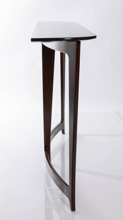 art nouveau inspired mahogany console at 1stdibs. Black Bedroom Furniture Sets. Home Design Ideas