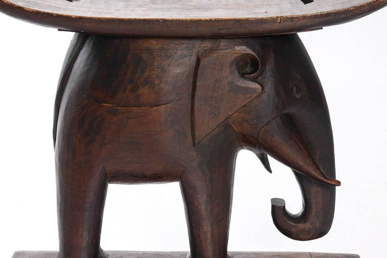 Indian Elephant Stool At 1stdibs