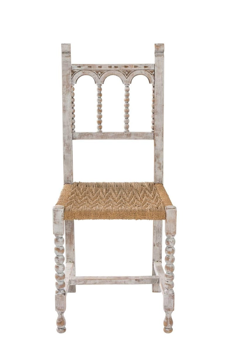 Gothic style painted side chairs for sale at 1stdibs for Side chairs for sale
