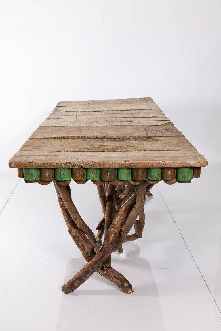 Twig adirondack table at 1stdibs - Adirondack style bedroom furniture ...