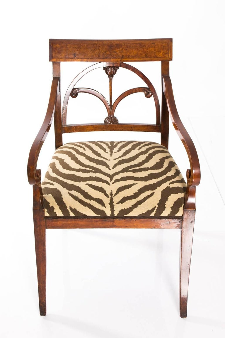 faux zebra fabric covered chairs for sale at 1stdibs fabric covered tub chairs fabric covered recliner chairs