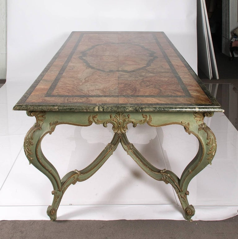 Wood Italian Dining Table For Sale