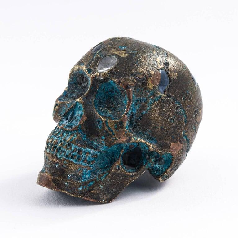 Bronze Skull For Sale At 1stdibs