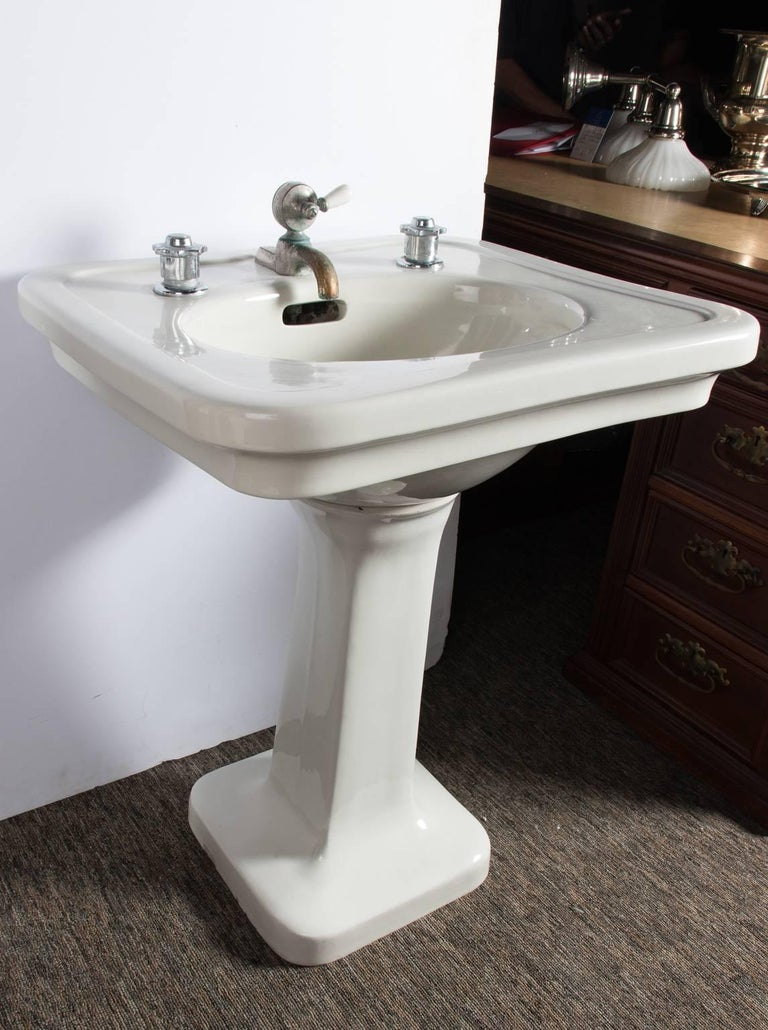 Small China Pedestal Sink For Sale At 1stdibs