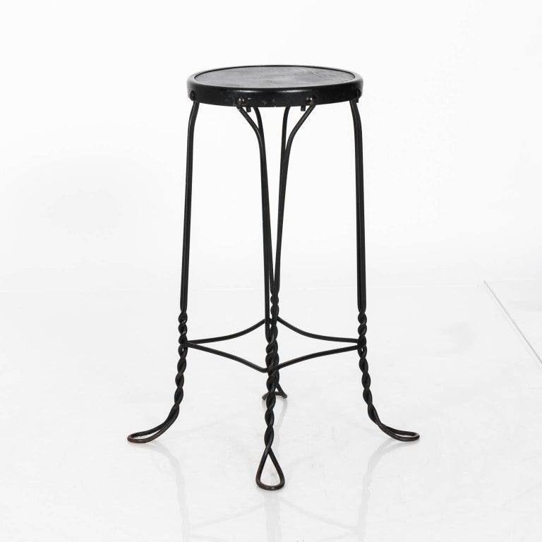 Pair Of French Bistro Bar Stools For Sale At 1stdibs