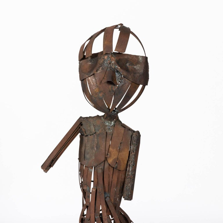 Abstract human figure, circa mid-20th century.