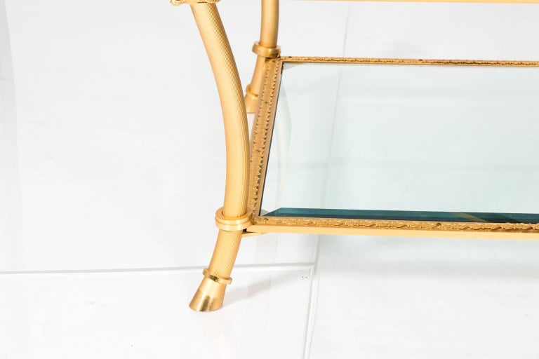 Gilt Bronze Coffee Table For Sale 6