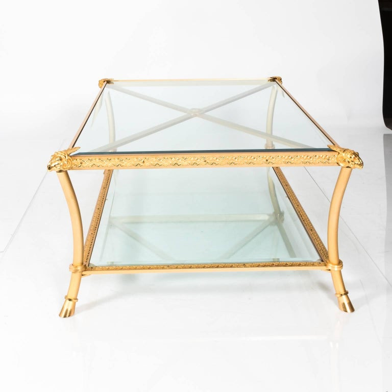 Gilt Bronze Coffee Table For Sale 2