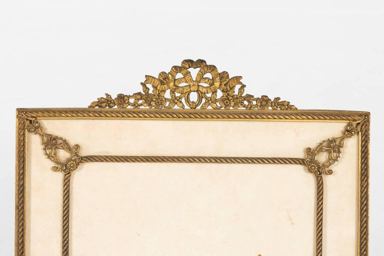 Gilt Bronze Picture Frame For Sale