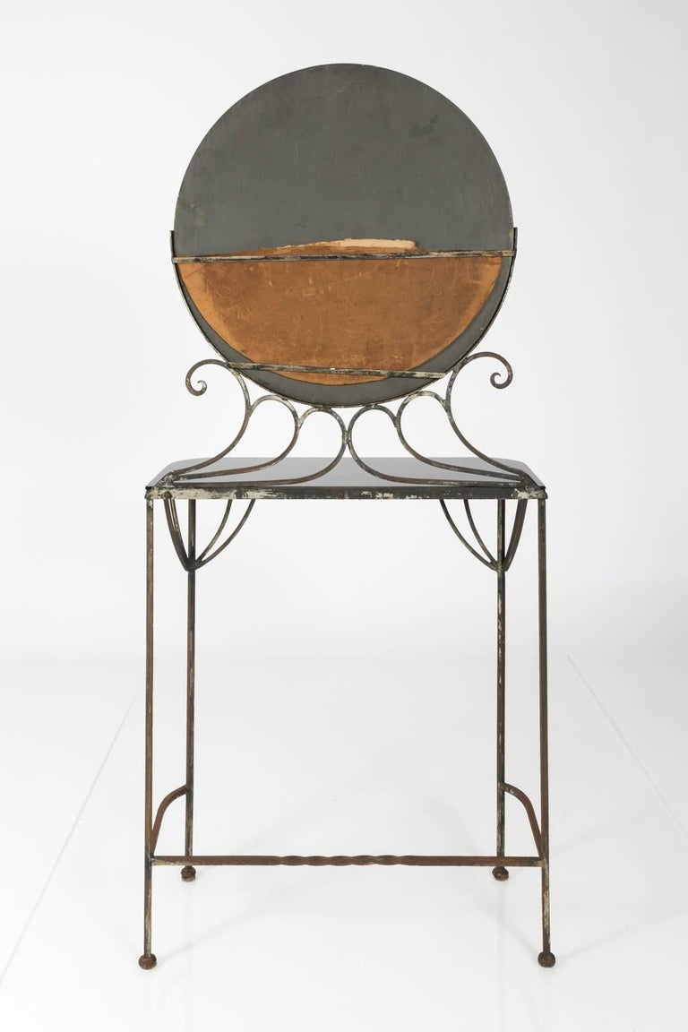 French Art Deco Vanity by Edgar Brandt, circa 1930s For Sale 5