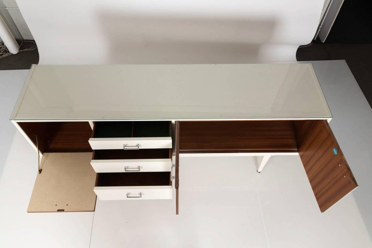 Mid-Century Modern Lacquered Sideboard By Nathan Furniture