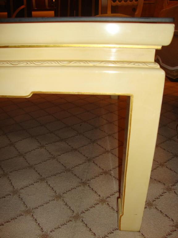 Custom Chinoiserie Paint Decorated Coffee Table 9