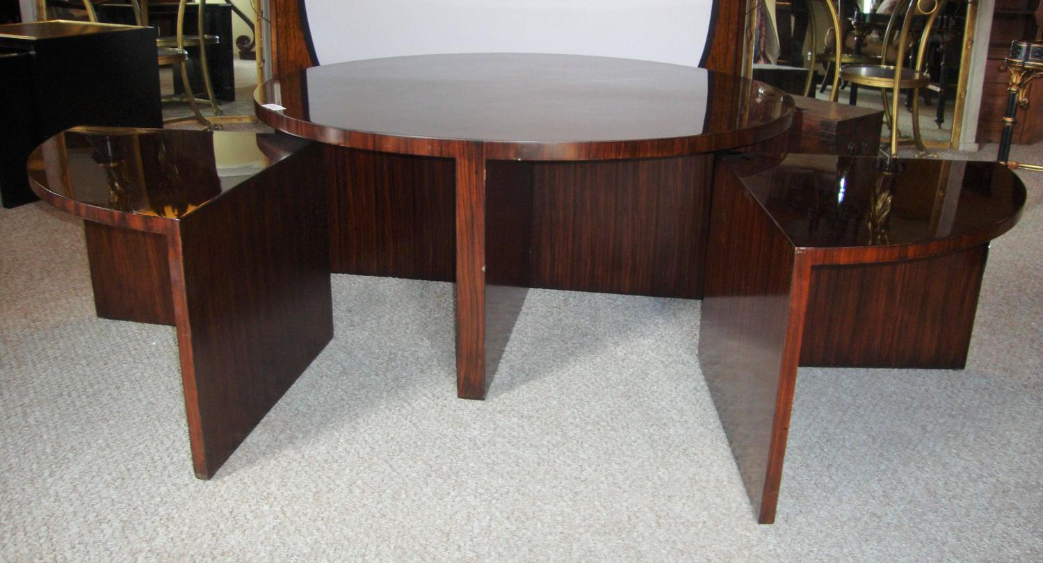 Ralph Lauren Five Piece Pull Out Cocktail Or Coffee Table Mid Century Modern For Sale At 1stdibs
