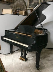 Steinway Baby Grand Ebonized Piano Model L 1932