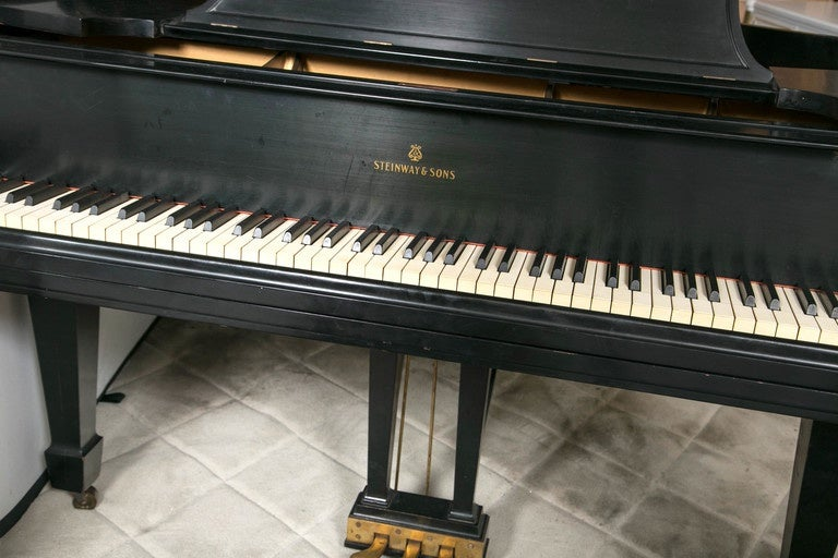 Steinway Baby Grand Ebonized Piano Model L 1932 At 1stdibs