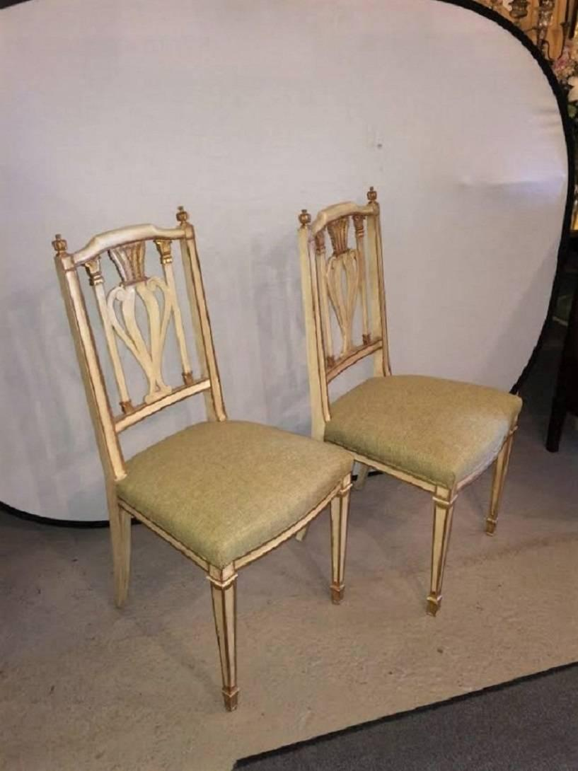 Set Of Ten Maison Jansen Dining Chairs For Sale At 1stdibs