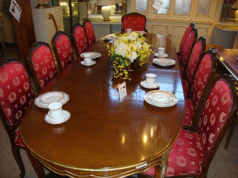 Excellent Set Of 14 Dining Chairs Louis Xv Style Maison Jansen Spiritservingveterans Wood Chair Design Ideas Spiritservingveteransorg
