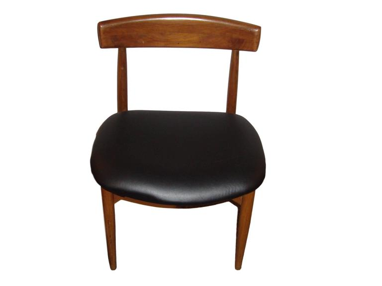 Set of Six Danish Mid-Century Modern Rosewood Dining Chairs 2