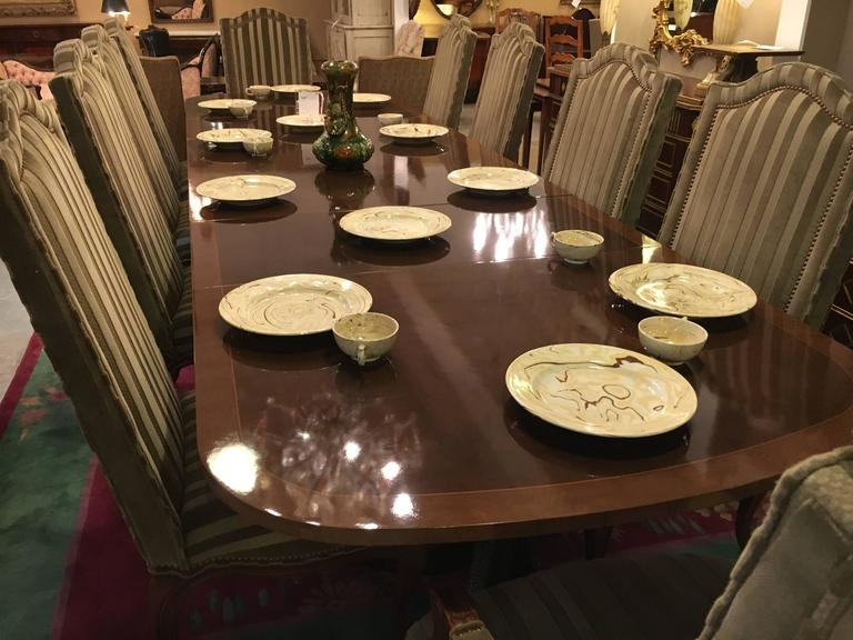 Set of Ten Harden Dining Room Chairs 2
